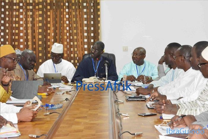 """Doudou Ndir: """"Un consensus fort s'est dégagé aujourd'hui"""""""