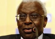 Le président de l'IAAF, Lamine Diack