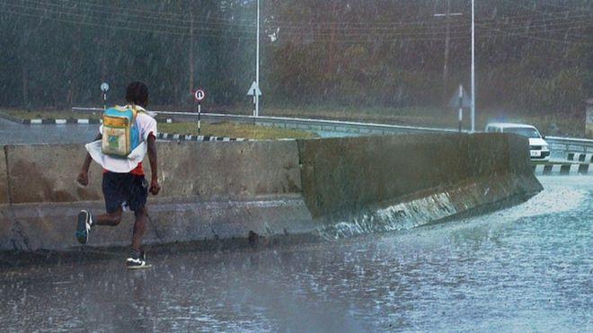 Kenya : une tempête de grêle affole les populations