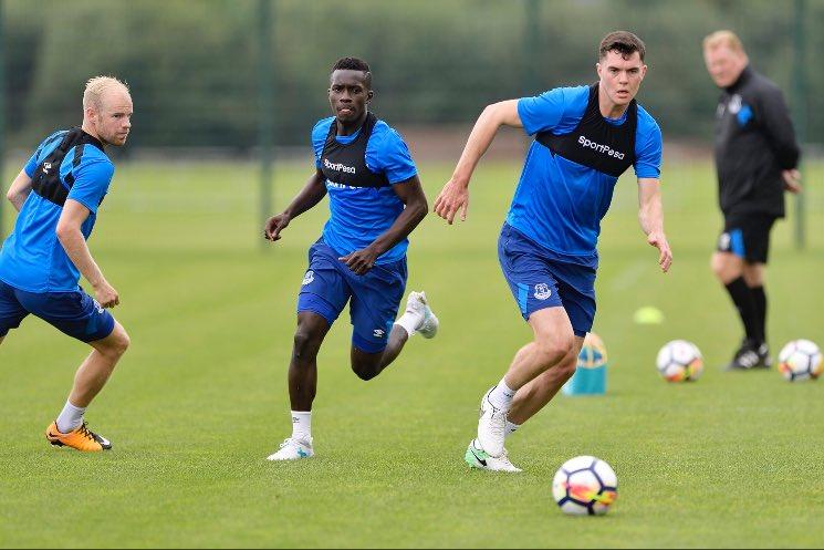 Everton : Le premier jour de Gana Gueye à l'entraînement