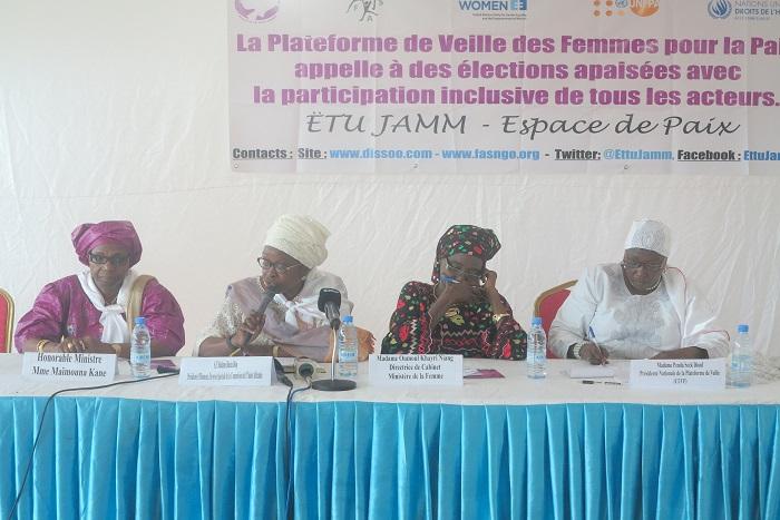 Les femmes en ordre de bataille contre les violences électorales