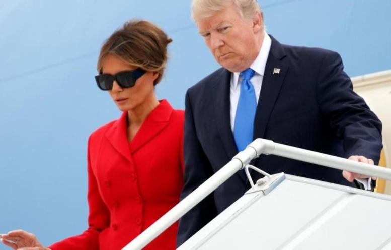 Donald Trump à Paris pour une visite de 24 heures