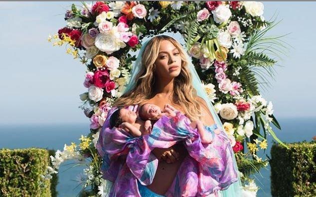 Beyoncé dévoile la première photo de ses jumeaux