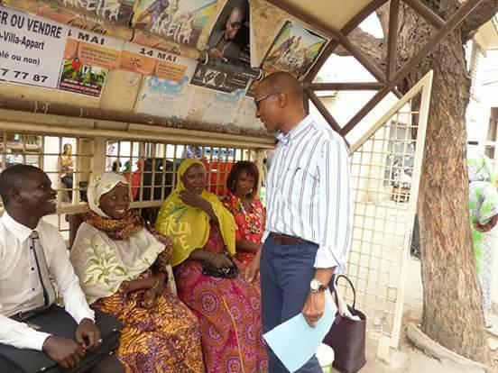Législatives: l'opération séduction d'Abdoul Mbaye en images