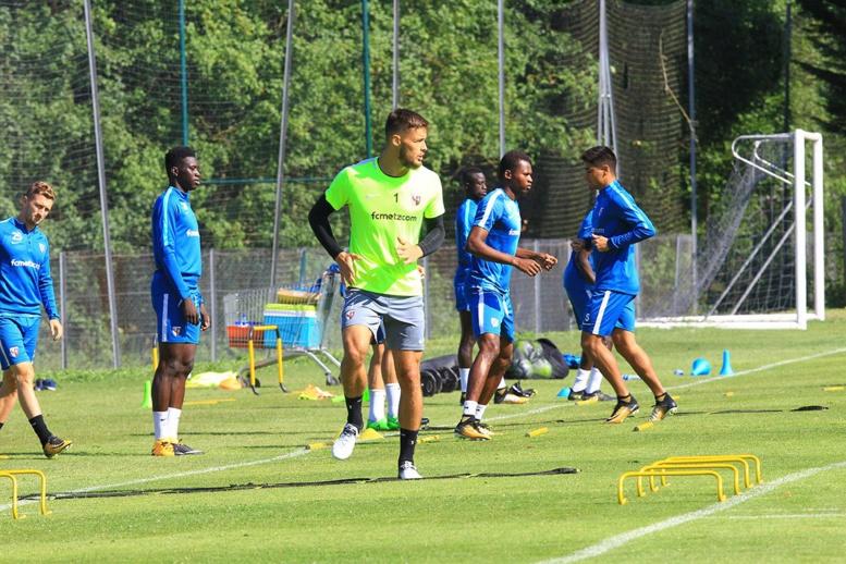 Ibrahima Niane à l'entraînement avec Fc Metz, (images)