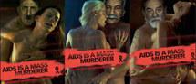 Publicité choc: Adolf Hitler au service d'une campagne anti-sida