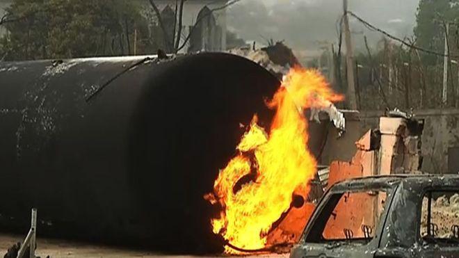 Nigeria: 9 morts dans l'explosion d'un réservoir de gaz