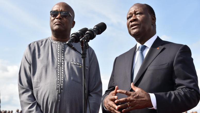 Burkina Faso: le traité d'amitié, sujet de la rencontre entre Kaboré et Ouattara