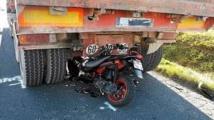 Accident à hauteur de la Patte d'Oie: La tête d'un jeune scootériste écrasé par un camion
