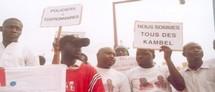 Marche CDPJ lors de l'agression de Kara Thioune et de Kambel Dieng