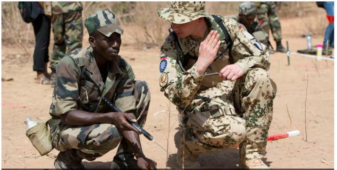 Communiqué de l'ambassade Allemande au Mali suite au crash d'hélicoptère survenu hier dans la région Gao