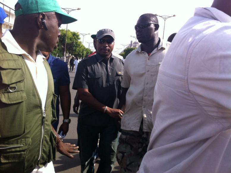 En direct du centre de vote où Barthélémy Dias doit voter : Regardez le dispositif sécuritaire déployé