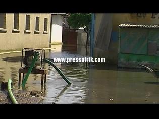 L'Office pour l'emploi des Jeunes de la Banlieue (OFEJBAN) déploie des moyens pour vider les eaux