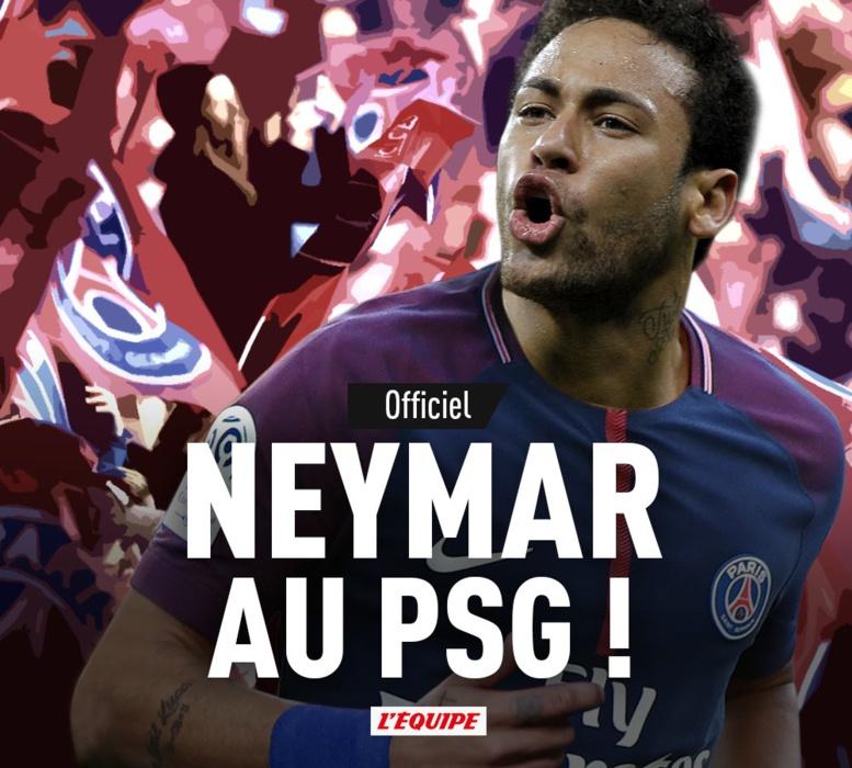 C'est Officiel ! Neymar vient de s'engager avec le Psg