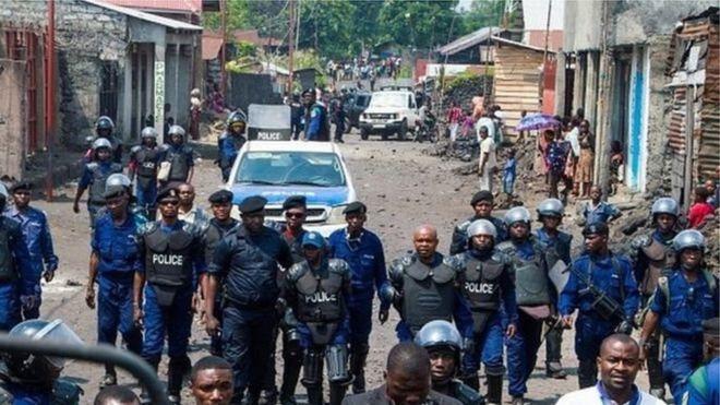 Kinshasa, théâtre d'une vague de violences