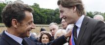 """Saluant la naissance des lycées en 1802, Nicolas Sarkozy a lancé : """"Ce qui compte en France pour réussir, ce n'est plus d'être bien né"""" © Vladimir Sichov/ABACAPRESS.COM"""