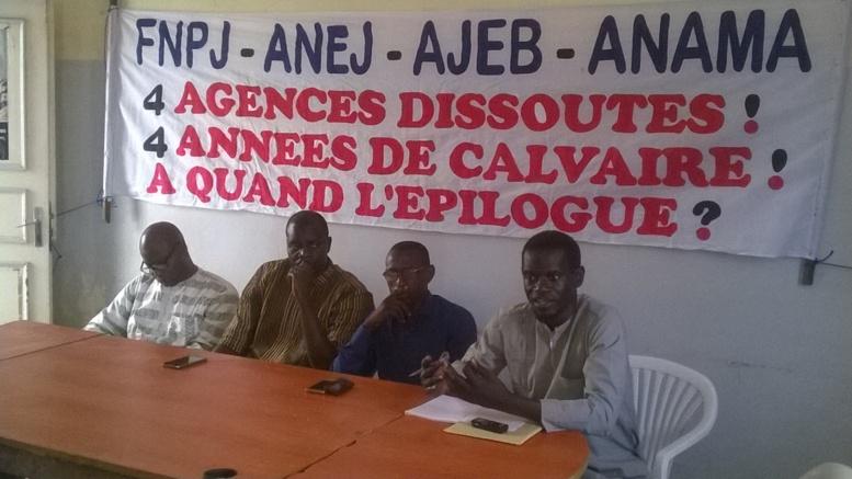 """Le Collectif des 4 agences dissoutes met en demeure l'Etat: """"il a 15 jours pour réagir"""""""