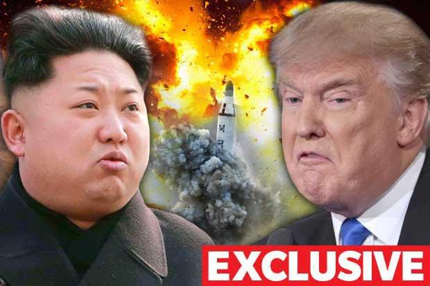 """Trump fait sa déclaration de guerre à Kim Jong-Un en direct sur Twitter : """"Les armes sont verouillées et chargées"""""""