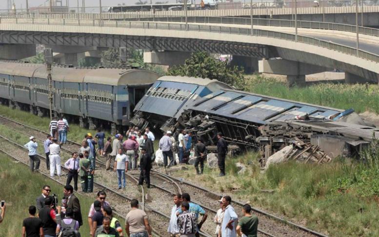 Drame en Egypte : Au moins 36 morts dans la collision de deux trains