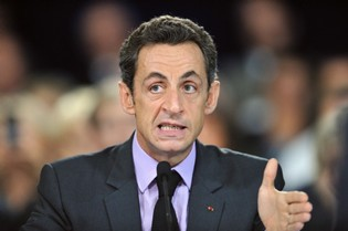 Nicolas Sarkozy, le 8 octobre dernier.Photo reuters
