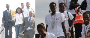 """Sacrée championne d'Afrique de Basket: les """"Lionnes"""" rappellent à Wade sa promesse"""