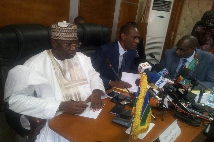 Abdoulaye Daouda Diallo, ministre de l'Intérieur :