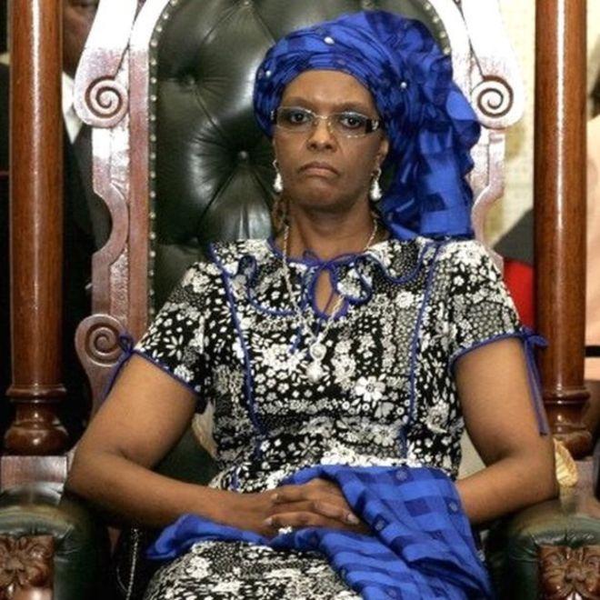 AfSud: Alerte rouge contre Grace Mugabe