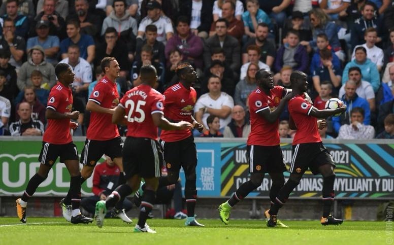 Deuxième journée Premier League : Mourinho et Manchester United ne plaisantent pas (4-0 face à Swansea)