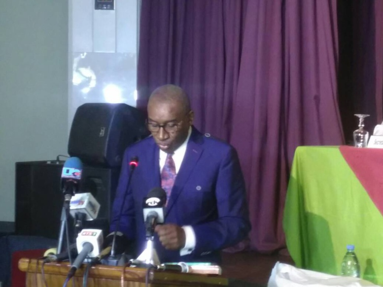 """Sidiki Kaba adoube les magistrats sénégalais: """"Malgré vos faibles moyens, la justice produit de bons résultats"""""""