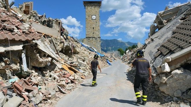 Séisme en Italie: 02 morts et 25 blessés
