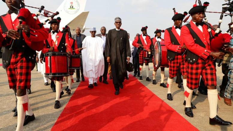 Nigeria: les premiers pas de président de Muhammadu Buhari depuis son retour