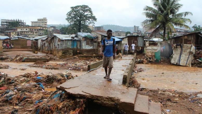 Sierra Léone 11 jours après les inondations : 499 morts et 810 personnes portées disparues