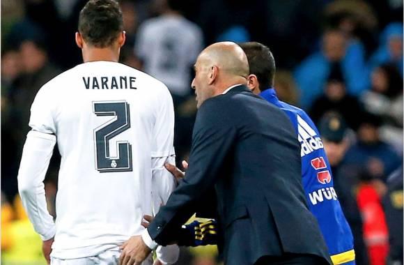 Zidane dévoile presque le forfait de Varane face aux Pays-Bas — EdF