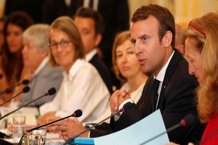 Rentrée politique en France Macron joue la carte du volontarisme