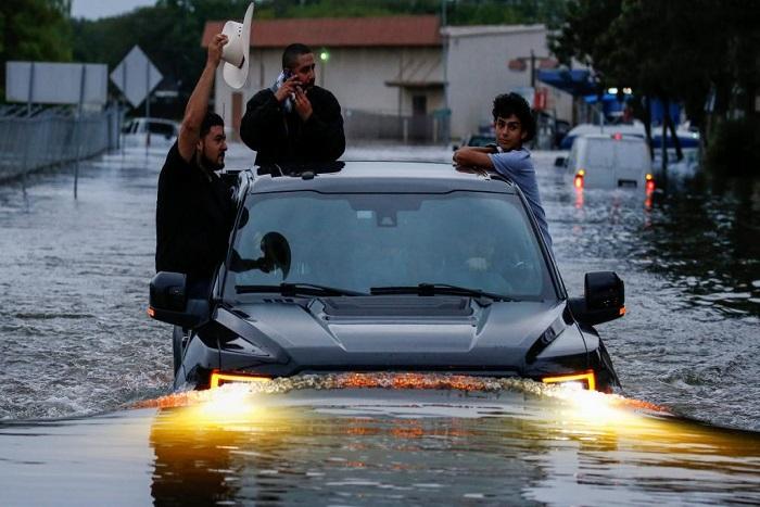 Etats-Unis: Houston dévastée par la tempête Harvey
