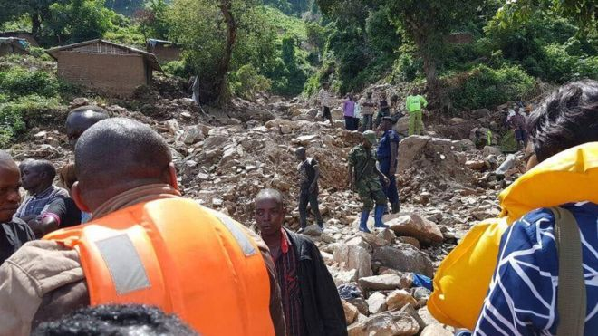 Deux jours de deuil national en RDC après un glissement de terrain