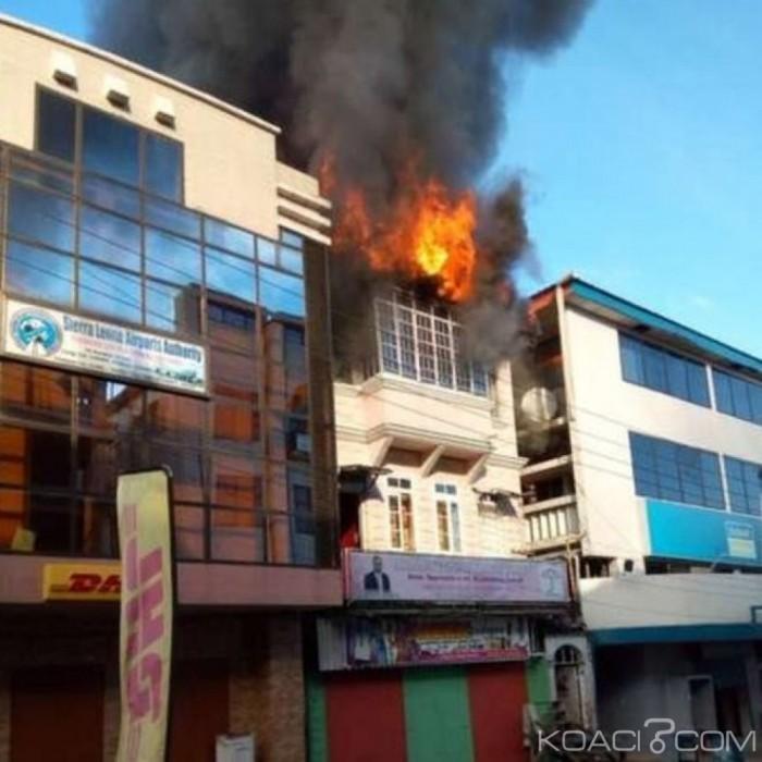 Sierra Leone: Le QG d'un parti d'opposition ravagé par un incendie à Freetown