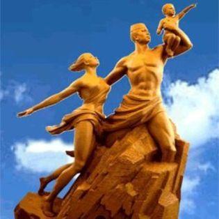 Report de l'inauguration du monument de la Renaissance africaine