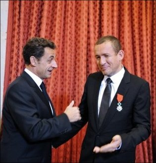Sarkozy-Danny Boon: Le comique et le président