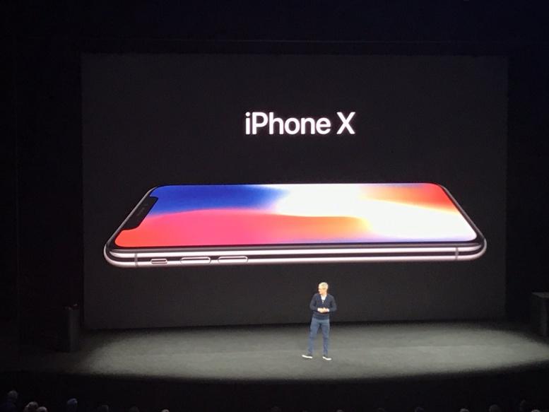 Keynote 2017 : Apple présente les iPhone 8 et X