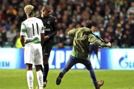 PHOTO : Mbappé, un fan tente de le frapper !
