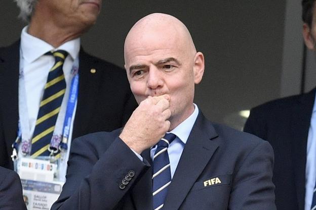 Nouvelle plainte contre Infantino — FIFA