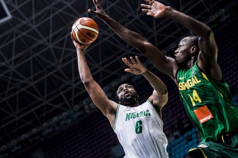 Fin 3ème quart temps - 1/2 finale Afrobasket: Sénégal 45 - 52 Nigéria