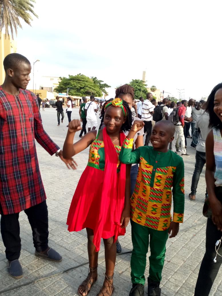 Manifestation anti - Franc CFA: le cri du coeur de Sathérou, fille de Kémi Séba