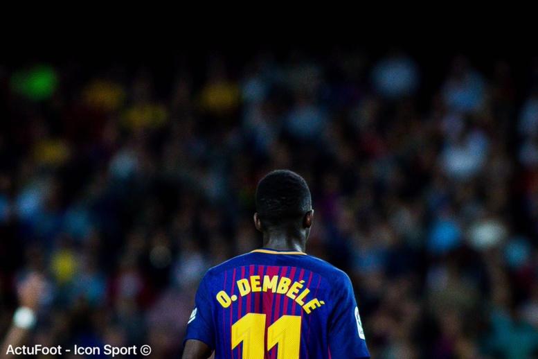 Barcelone: Ousmane Dembélé out entre 3 et 4 mois