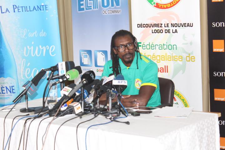 """Suivez en direct la conférence de presse du sélectionneur des """"Lions"""" Aliou Cissé"""