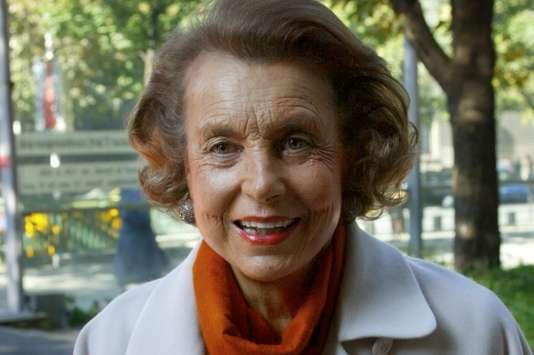 La femme d'affaires Liliane Bettencourt est morte