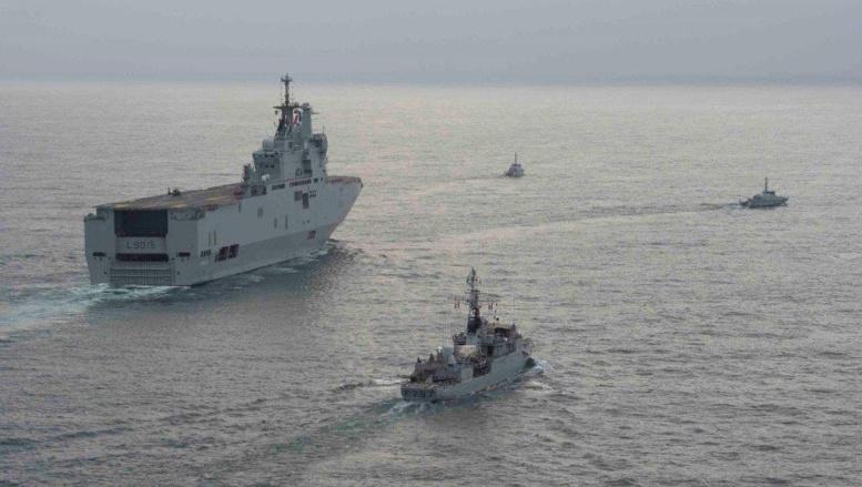 «African Nemo»: coopération navale antipiraterie dans le golfe de Guinée