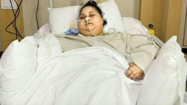"""La femme """"la plus grosse du monde"""" est décédée"""