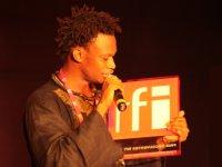 Le chanteur sénégalais Naby, Prix Découvertes RFI 2009